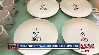 That Pottery Place offers take home kits