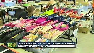 Service League of Green Bay prepares children for school