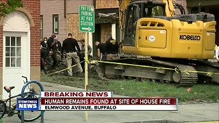 Human remains found at scene of Elmwood Avenue fire
