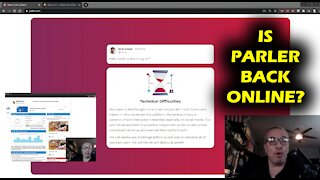 Looks Like Parler Is Back Online