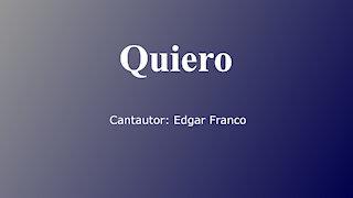 """""""Quiero"""" - alabanza a Jesucristo en estilo salsa"""