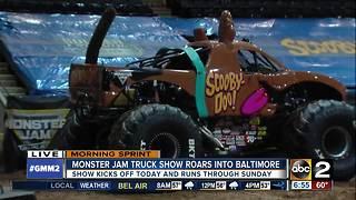 Monster Jam Truck Show roars into Baltimore