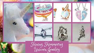 Teelie's Fairy Garden   Shining, Shimmering Unicorn Jewelry   Teelie Turner