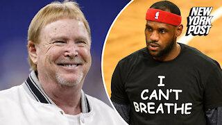LeBron James can't believe Raiders tweet after Derek Chauvin verdict