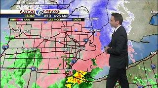 Ice storm hitting metro Detroit this morning