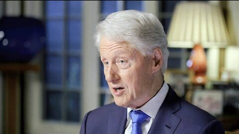 BILL CLINTON admitted to the UCI Medical Center in California.