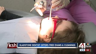 Gladstone dentist offers free exams