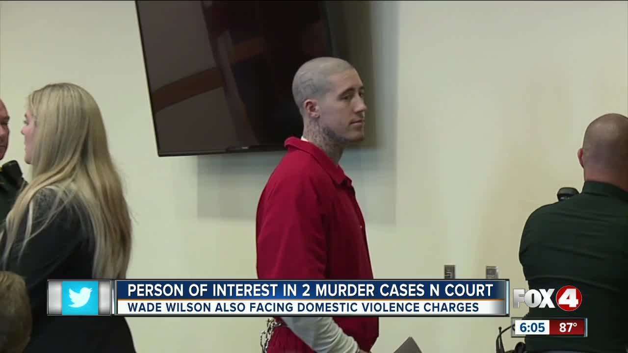 Person of interest in murder case has court appearance