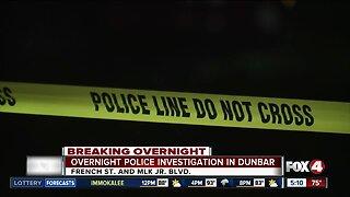 Large FMPD presence in Dunbar neighborhood