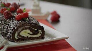 Chocolate Christmas Trunk