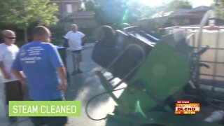 Trash Can Cleaning & Sanitizing