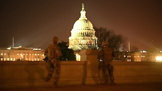 Military Activity Has Stepped Up in U.S. Capitol - DC Military Lockdown