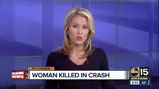 Pedestrian struck and killed in Phoenix