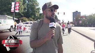 "Mainstream lies about ""anti-vaxx"" protestors"