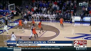 Tulsa Basketball defeats Oklahoma State, 74-71 behind 20 points from Daquan Jeffries