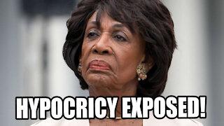 Maxine Waters Hypocrisy EXPOSED