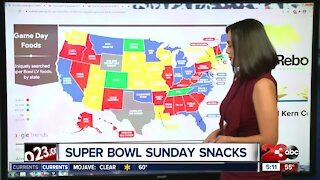 Super Bowl game day snacks across the nation