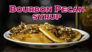 Make Homemade Bourbon Pecan Syrup Recipe