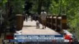 Yosemite National park closes