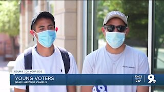 Young voters weigh in on the presidential election