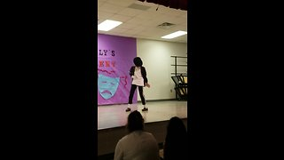Kid Flawlessly Pulls Off Michael Jackson Dance Moves At Talent Show