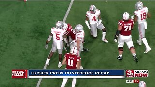 Sports debrief: Huskers hold press conference Monday