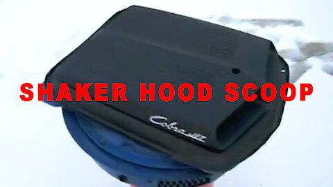 Shaker Hood Scoop