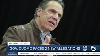 NY Governor Andrew Cuomo faces two new allegations of inappropriate conduct