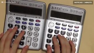 Aprenda a tocar 'Despacito' com duas calculadoras
