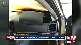 Mother demands answers after Hyundai SUV bursts into flames