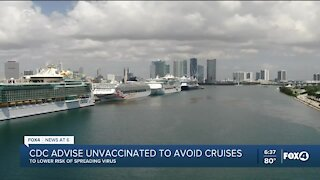 CDC lowers travel warning for cruises