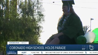 Community celebrates Coronado High School graduates