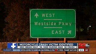 Motorcycle Victim Identified