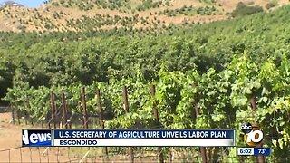U.S. Agriculture Secretary Sonny Perdue visits San Diego