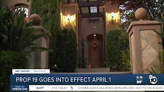 Prop 19 goes into effect April 1st