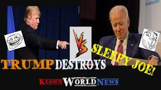 Trump Debates Biden BEATS WALLACE LOL