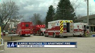 Rochester Apartment Fire