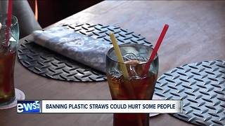 Plastic straw bans prompt questions, concern for people with disabilities