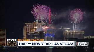 New Year's Eve fireworks 2018
