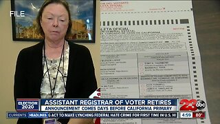 Assistant Registrar of Voters announces retirement five days before primary election