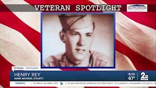 Veteran Spotlight: Henry Rey of Anne Arundel County