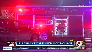Body found inside flaming car in Blue Ash