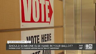Should someone else hand in your ballot?