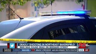 Deadly shooting in Northeast Bakersfield
