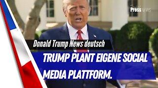 Trump mit eigener Social Media Platform