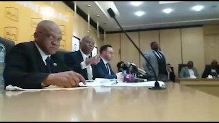 SOUTH AFRICA - Johannesburg - Mayor Herman Mashaba Press Conference (video) (JQh)