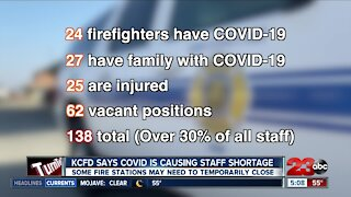 KCFD facing firefighter shortage because of pandemic