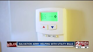 Salvation Army helping with utility bills