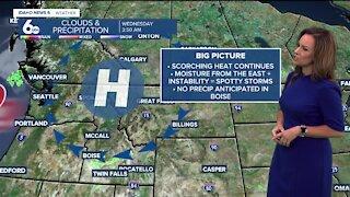 Rachel Garceau's Idaho News 6 forecast 6/30/21