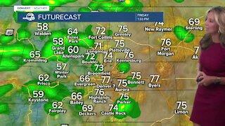 Friday 5:15 a.m forecast